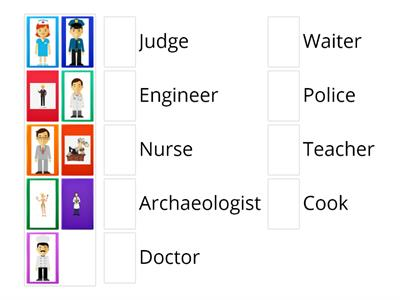 Occupations in English