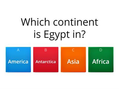 BIG Egyptian Quiz.