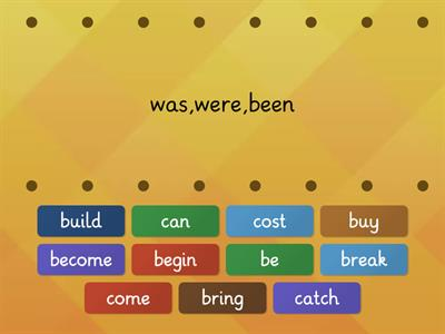 Past Simple Irregular verbs 3