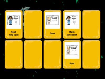 Outer Space Matching Game 2