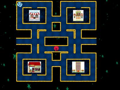 places in town - maze chase