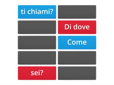 Copia di Pronomi interrogativi (1a)