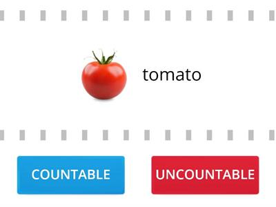 Countable & Uncountable FOOD nouns