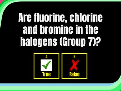 Group 7 - The Halogens Quiz