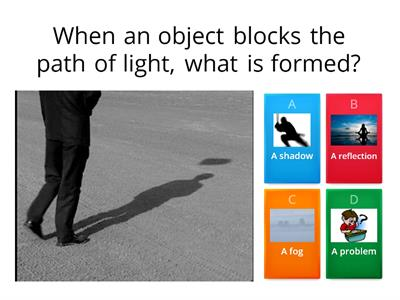 Light and Shadow Quiz