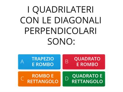 QUIZ sui Quadrilateri