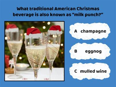 Copy of Christmas Quiz: American Traditions