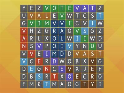 Vv Word Search
