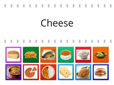 Food. Choose the correct picture.