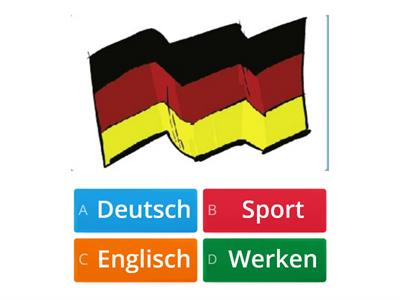 German School subjects