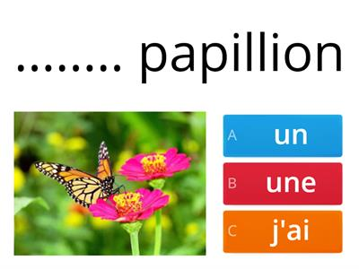 nature in french