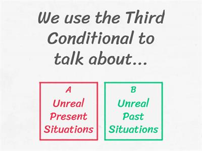 Third Conditional Theory