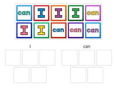 High-Frequency Word Sort