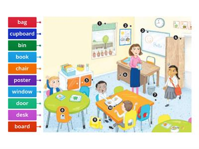 Bright Ideas 1: Unit 1, Classroom Objects