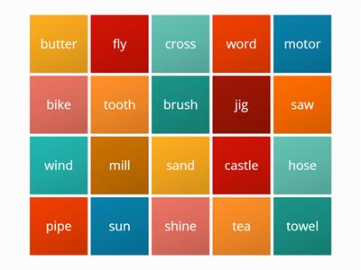 Connecting tiles2 compound words