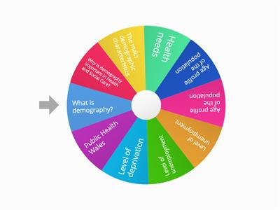 Random wheel - Health and Social Care: Module 2 Information