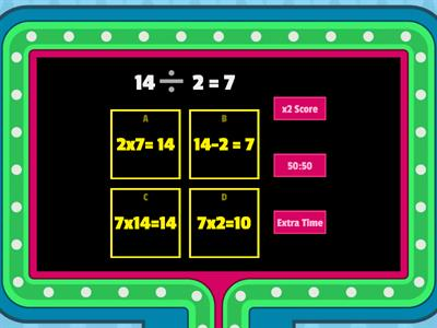 Related Multiplication and Division Facts