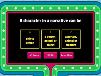 Adjective Game Show Quiz