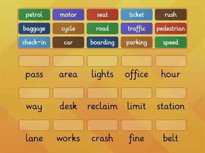 Transport . Compound words