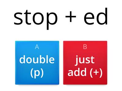 Copy of 5.3 doubling rule -ed, -ing