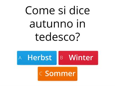 quiz tedesco