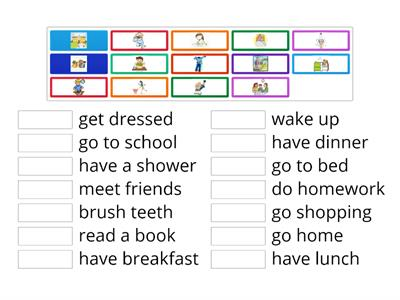 Copy of 5th grade Daily Routines