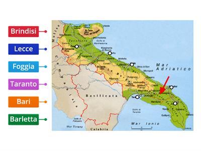 Cartina Muta Puglia.Regione Puglia Risorse Per L Insegnamento