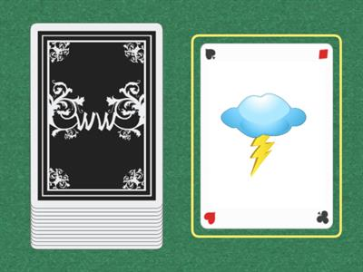 Weather flash cards GAME