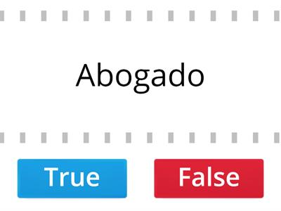 Spanish Jobs - true or false!