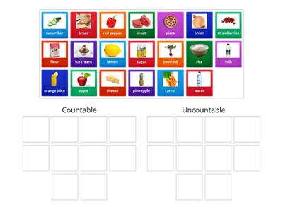 Copy of Countable & Uncountable Nouns