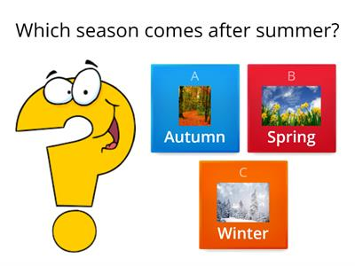 Copy of Seasons of the year