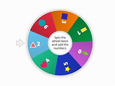 SPIN THE WHEEL - SHAPES - MATH