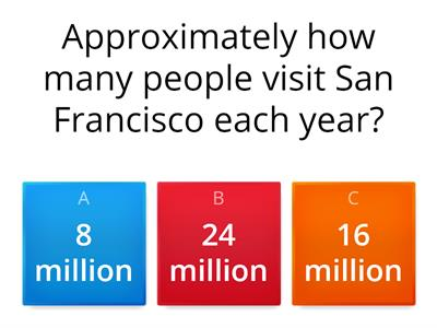 San Francisco QUIZ