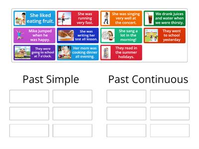 Past Simple - Past Continuous