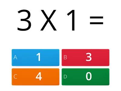رياضيات جدول الضرب 3 موارد تعليمية