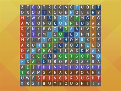 Irregular Wordsearch