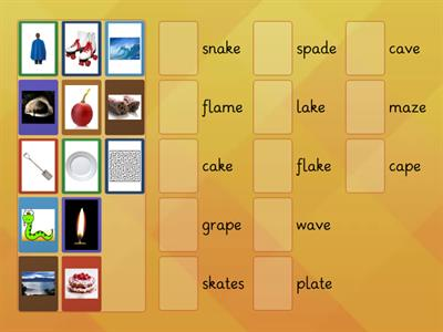 a-e split digraph words