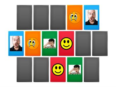feelings easy memory game.