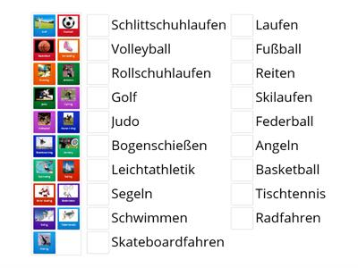 Sports in German