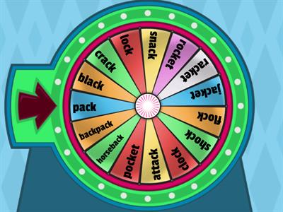 Spin the Wheel--/ack/ock/ sounds