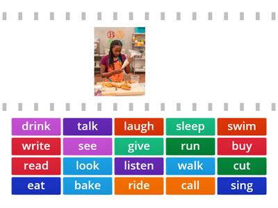 Action Verbs for Latino Literacy Program