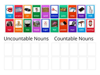 Copy of Countable and Uncountable Nouns