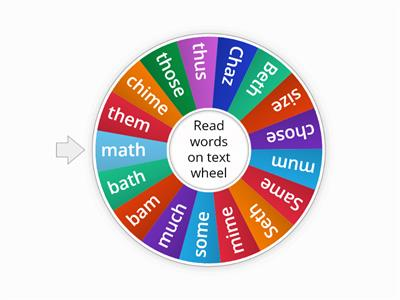 Words Wordwall Short vowel sounds closed and learned
