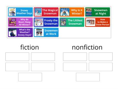 Fiction or Nonfiction? - Winter Theme