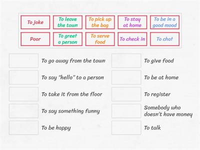 New English File Elementary Vocabulary training Part 3