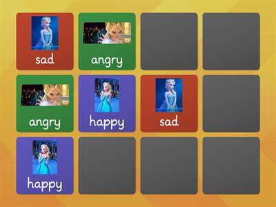 emotion pairs elsa minions