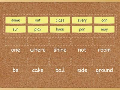 Compound Words 2nd grade