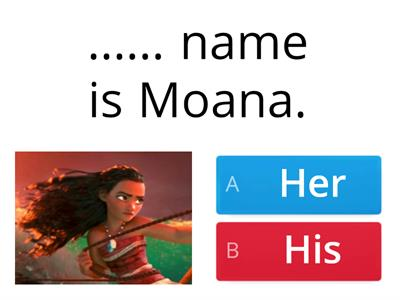 His/ her name