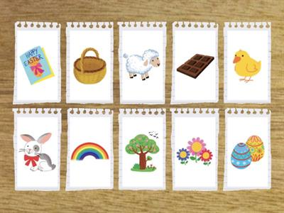 FLASH CARDS EASTER