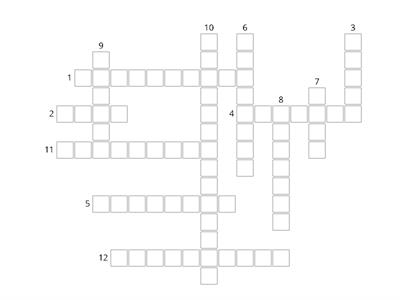 Media terminology crossword